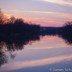 Iowa River Sunset