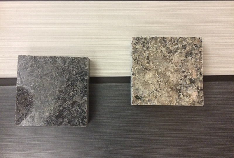 Selection: Silver Tile, Darker Counter Top